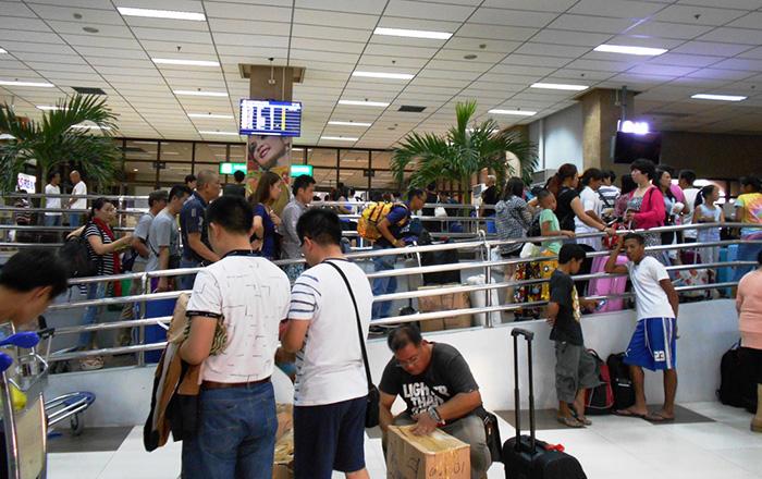 セブ空港、順調な乗客数の伸びも受け入れが不備