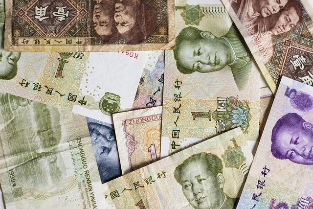 人民元、世界ランキングで4位に躍進、日本円を抜く