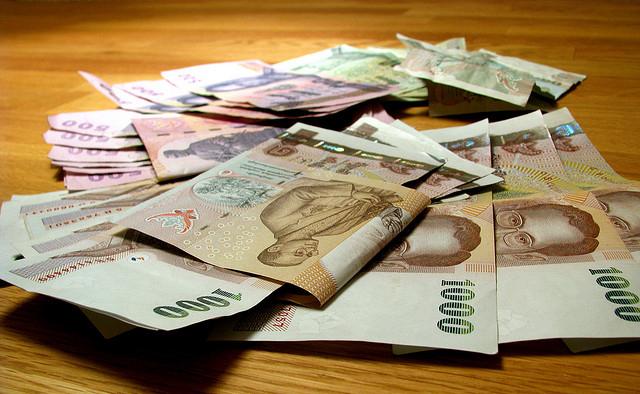 バーツが世界10位、国際資金決済通貨シェア