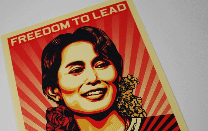 ミャンマー総選挙、アウン・サン・スー・チー党首率いるNLDが勝利へ