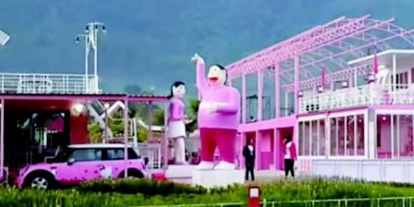 タイの仰天テーマパーク、キティちゃんの次は「ジャイアン」?