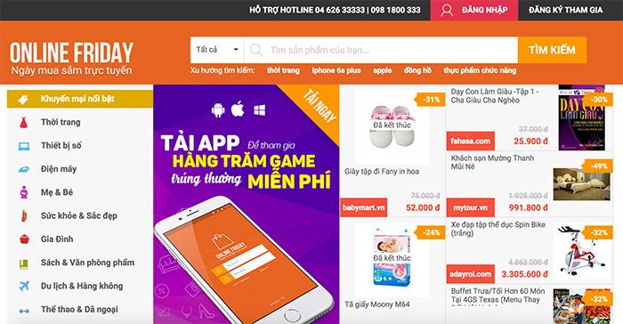 ベトナムでECセール「オンラインフライデー」が開催、100万人が関心