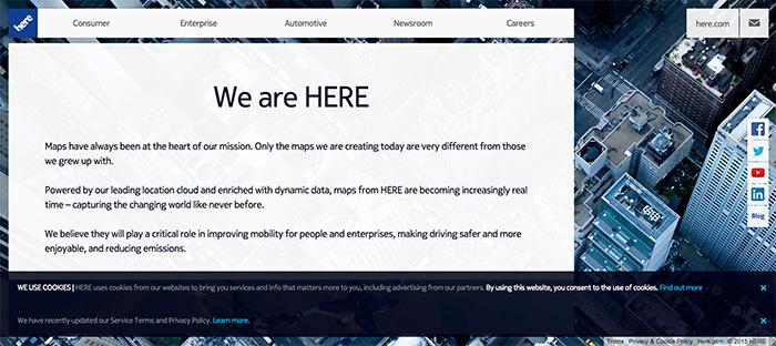 ドイツ高級車大手3社、位置情報サービスHEREの買収完了