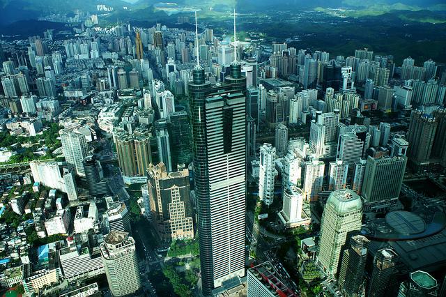 中国の都市競争力、深センが急伸、1位、2位は変わらず上海、香港