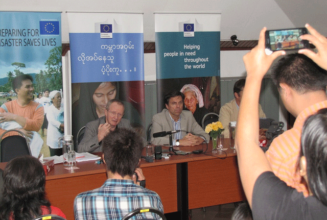 ミャンマーでは、EUがアパレル輸出成長の原動力に
