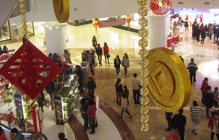 台湾の旧正月大型連休、デパート・SC各社売上は前年上回る