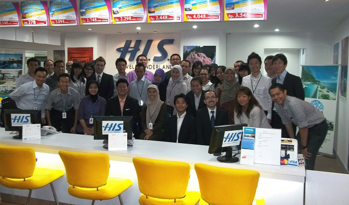 H.I.S.がインドネシア現地法人3店舗を新規オープン