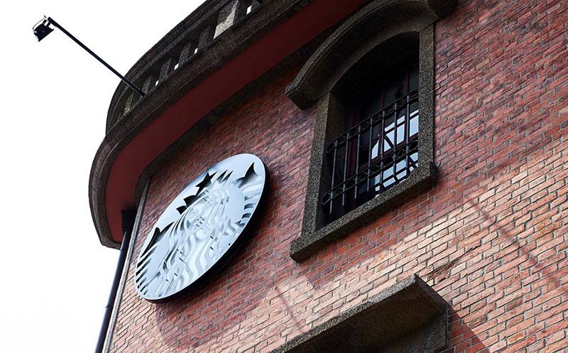 スターバックス、台北市万華区の1932年築の古蹟を店舗として開業