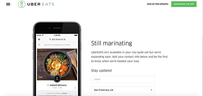 Uberの食品宅配サービス「UberEats」がシンガポールでローンチへ