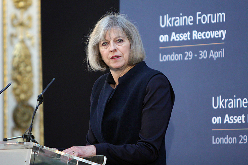 イギリス・メイ新首相、EUとの離脱交渉を成功に導く決意を示す
