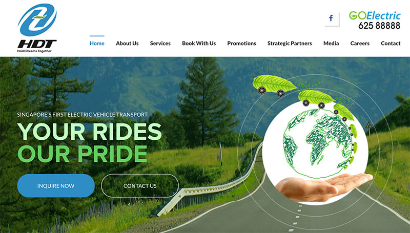 シンガポール、電気自動車タクシー会社「HDT singapore」開業へ