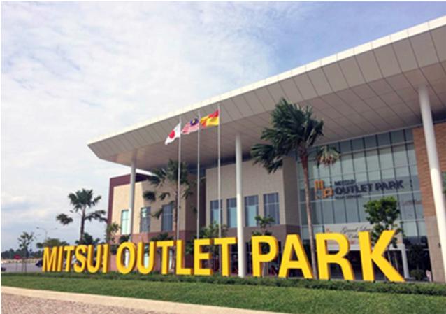 三井アウトレットパーク木更津が開店間近 タイ人観光客の新観光地として期待