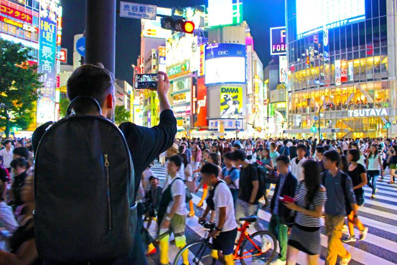 7月の訪日観光客数が同月で過去最高に 15ヵ国でも最多人数を記録