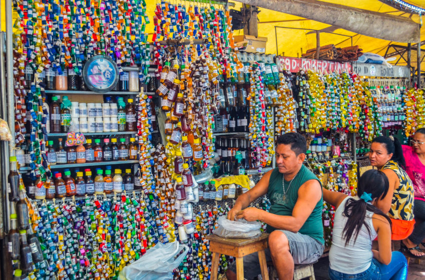 アサイーの屋台でもおなじみ、ヴェロペーゾ市場が創設390年