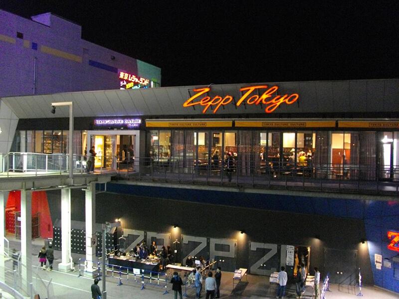 シンガポールに新ライブホール「Zepp@BIGBOX Singapore」が2017年6月にオープン