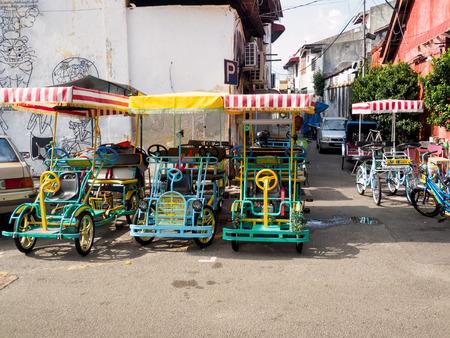 マレーシア・ペナンで四輪車の運行が禁止される