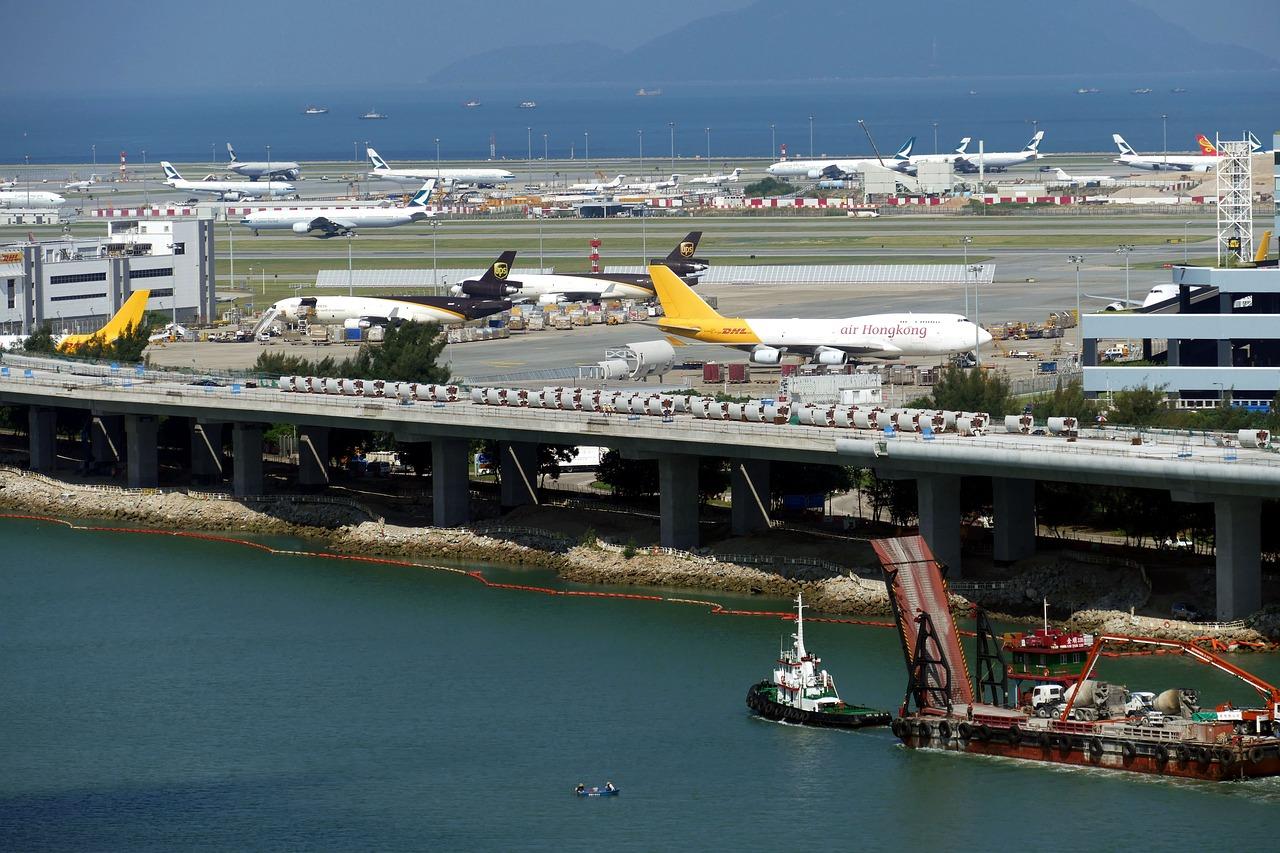 香港国際空港、3月の貨物取扱量17.8%増