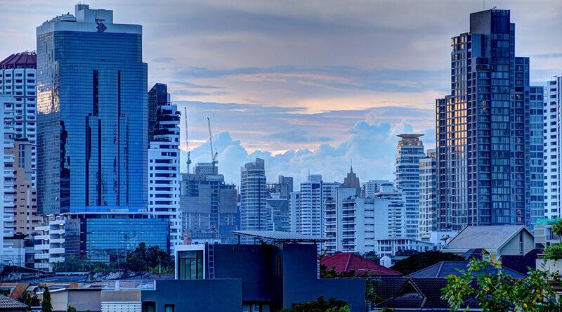 バンコクの賃貸ビル賃料が11.2%上昇 建設ラッシュも中国企業で予約埋まる