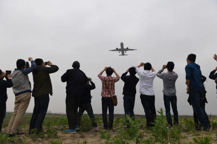 中国産の大型旅客機C919、去年のテストは故障で中止