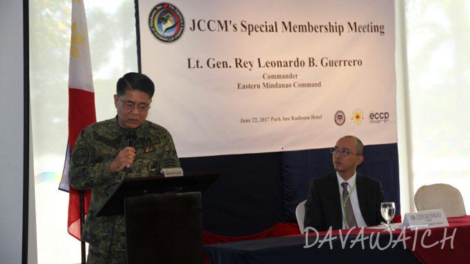 日本人商工会とフィリピン国軍がコラボ? 安全対策セミナー開催