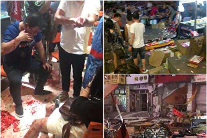 中国でまたも爆発が発生 夜市で40人以上死傷か=遼寧省
