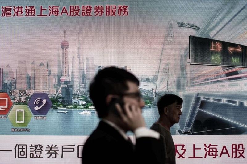 中国優良株が下落、上海総合指数は大台の3200点を下回る