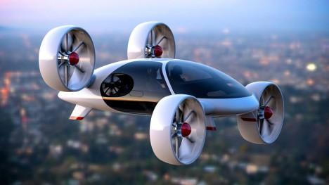 空飛ぶタクシー2018年にも乗客輸送か
