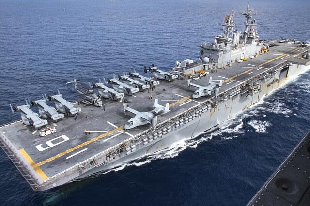 豪・クイーンズランド州での米豪共同演習に中国スパイ船の監視