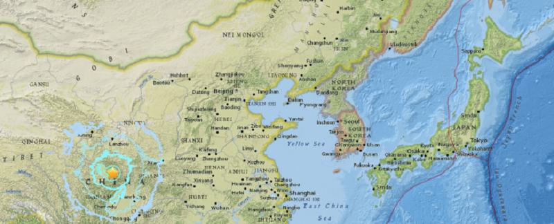 中国 四川省でM7の地震 100人以上死亡の可能性 ケガ人多数