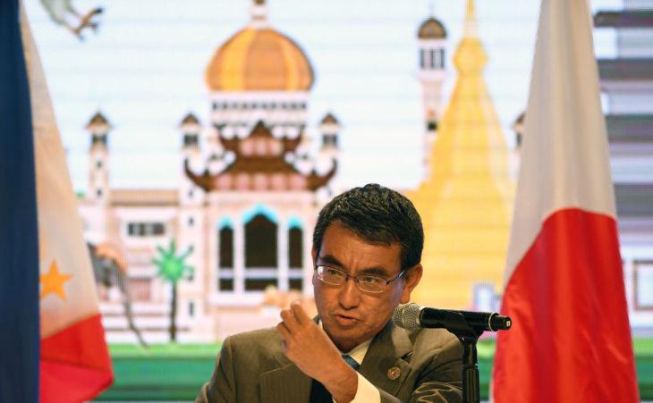 ASEANインフラ、今後5年間で約2000億ドル資金供給=河野太郎外相