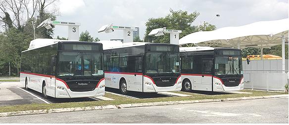 マレーシアで大型EVバスシステム実証を開始