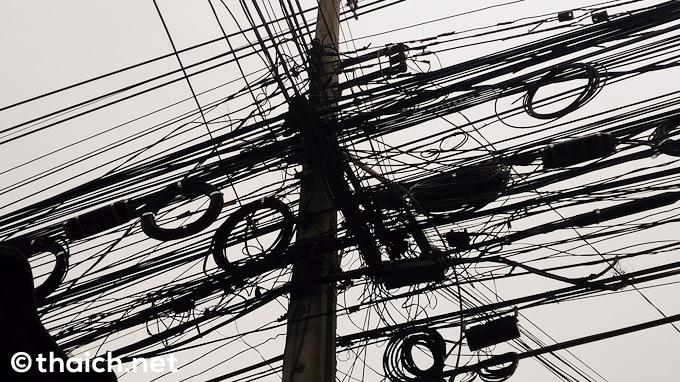 バンコクの電線は2022年までに地中化