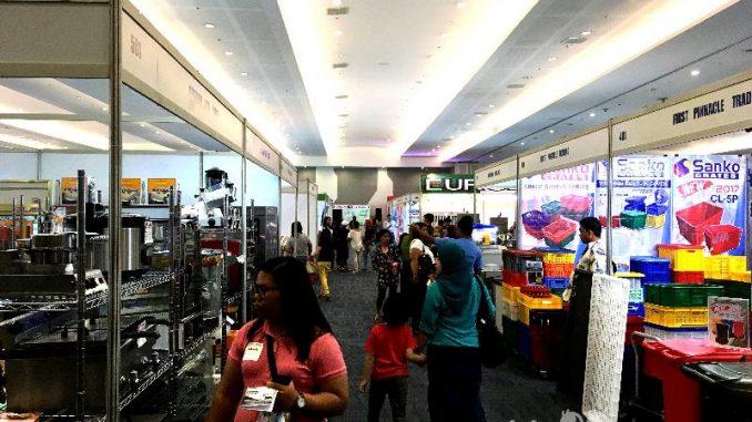 ダバオ市内SMXでワールド・フード・エキスポ開催