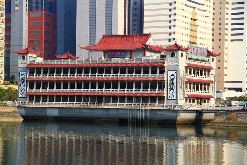 香港・沙田の河のほとりにある有名レストラン「明星海鮮舫」が閉店