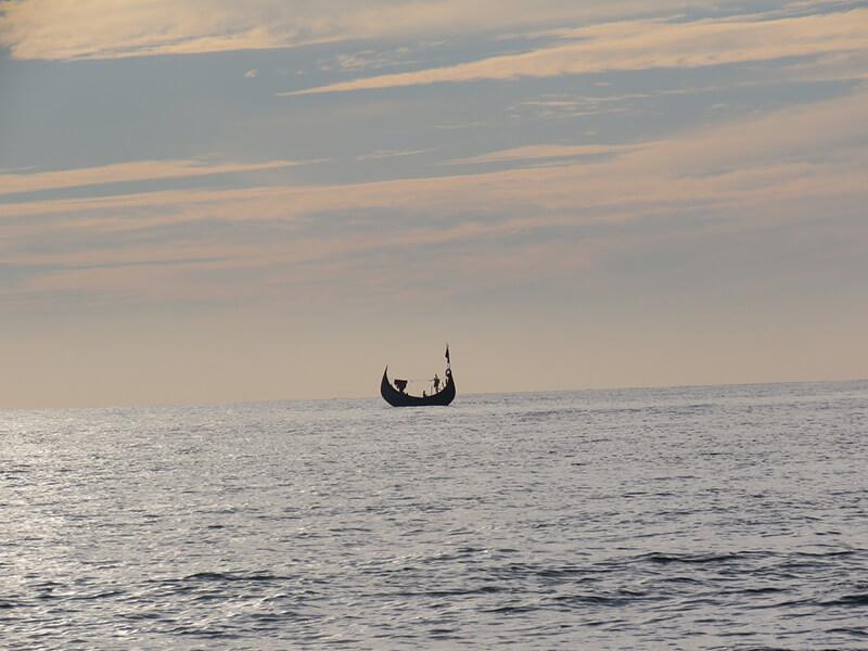 ミャンマー・ベンガル湾上でサイクロン発生の予報
