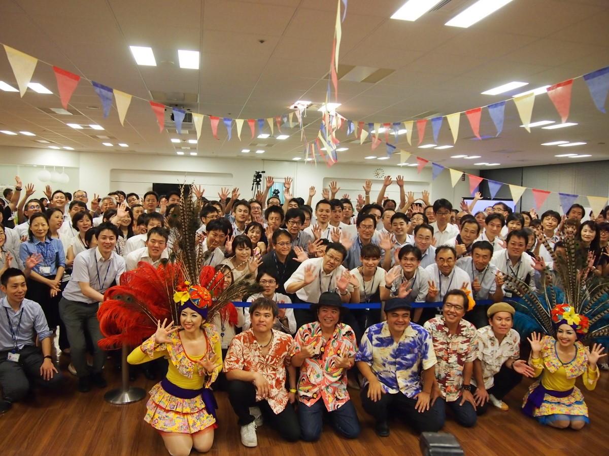 日本企業が、ブラジル名物のマルシャで健康を目指す取り組み