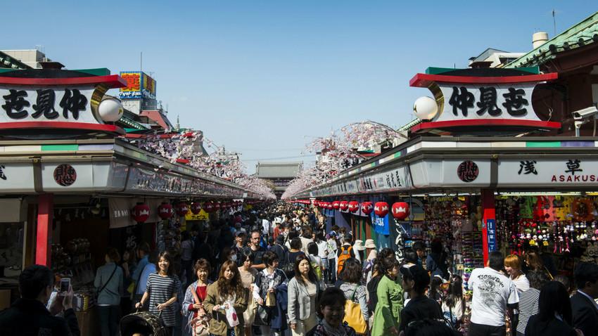 今年1〜10月に日本を訪れたロシア人は6万3千で40%増
