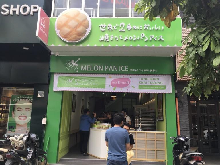 『世界で2番目においしい焼きたてメロンパンアイス』がベトナム進出!