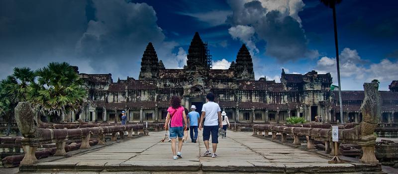 カンボジア-日本間の直行便が、観光客数を増加