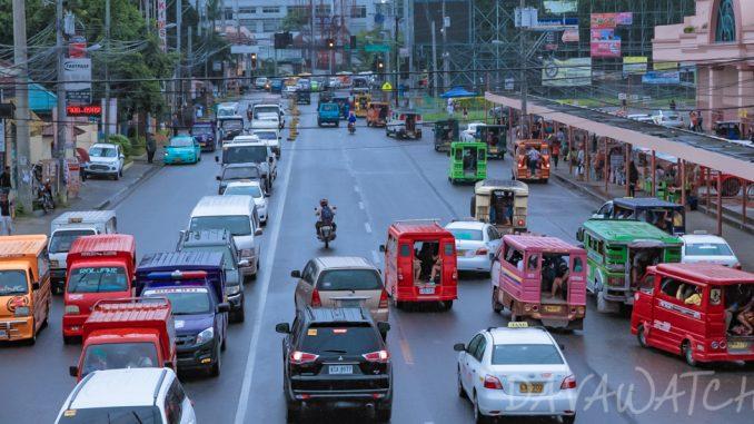 ダバオ市の交通渋滞、2018年に悪化の予想