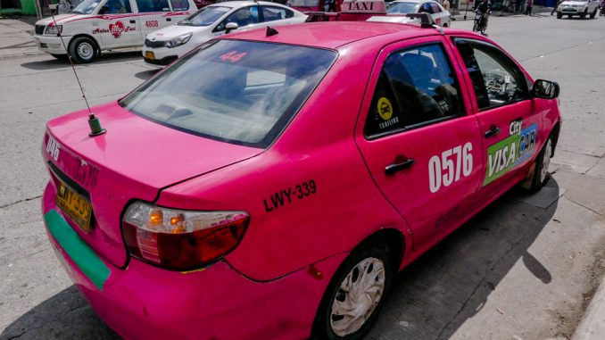 ダバオで新しいタクシー配車アプリがリリース