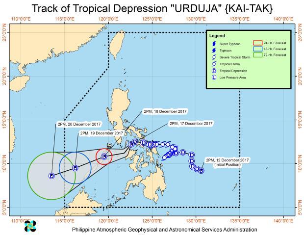 フィリピン・台風「ウルドゥハ」が横断、レイテ島西北端のビリラン州知事は『被災地宣言』を発令する見込み
