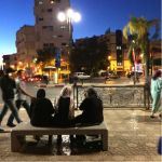 Street view in Morocco