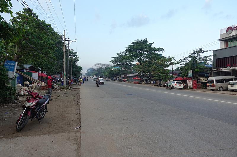 ミャンマー・ヤンゴン~マンダレー国道の拡幅工事がまもなく完成