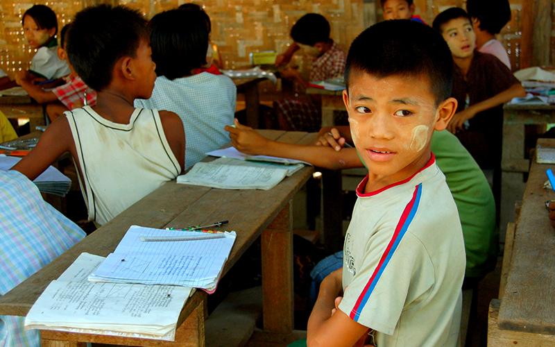 ミャンマー・ヤンゴンに新しい職業訓練校が完成  日本語クラスも開講