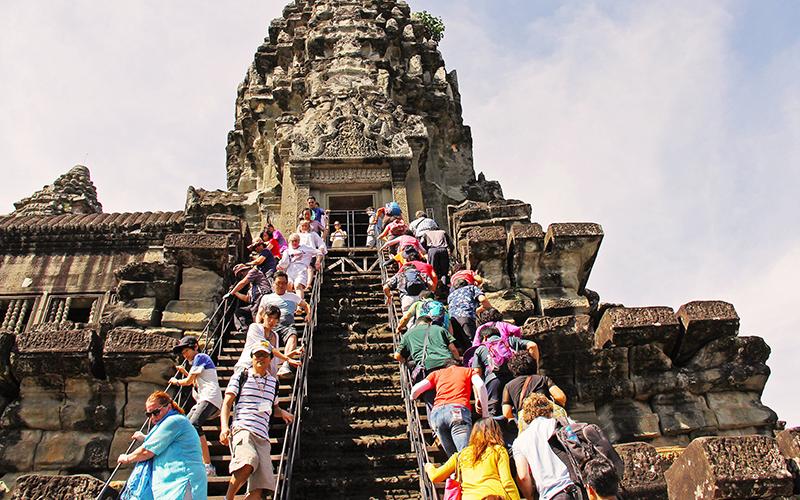 日本人観光客の取り込みを狙うカンボジア、国を挙げて観光産業を盛り上げる
