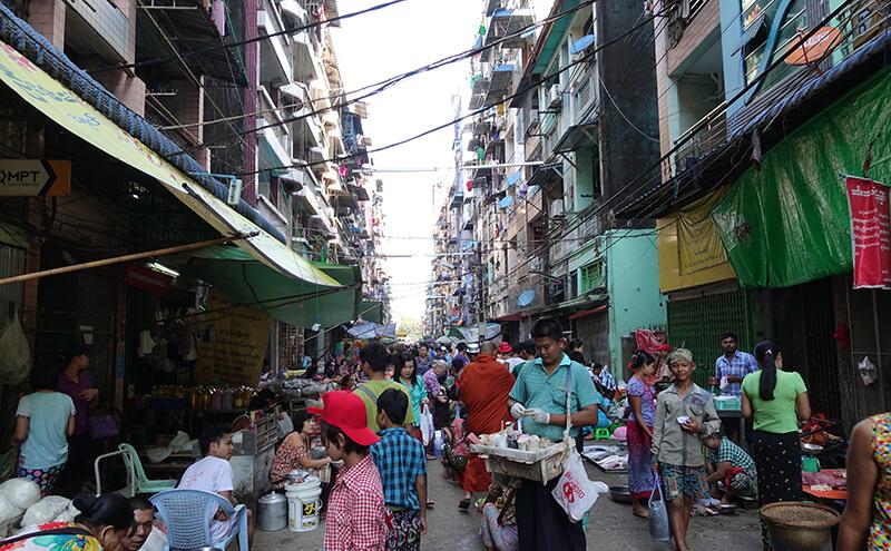 ミャンマーの経済成長率がアジアでNo.1に