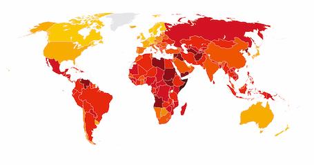 世界の「汚職ランキング」が発表  フィリピンを含むASEAN諸国の腐敗が目立つ