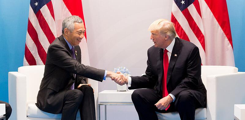 シンガポールのリー首相  「米中貿易戦争」による両国の関係悪化を懸念