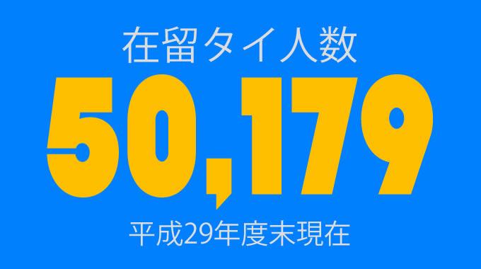 日本の在留外国人数が過去最高を記録 タイは9位で5万人超え